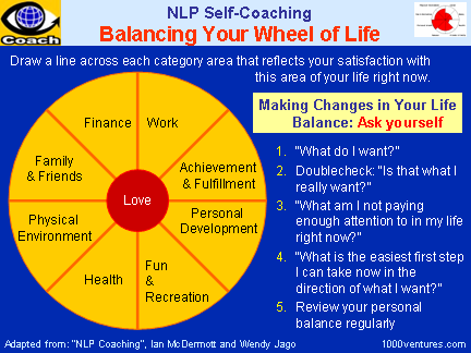 Personal Success 360: BALANCED WHEEL of LIFE