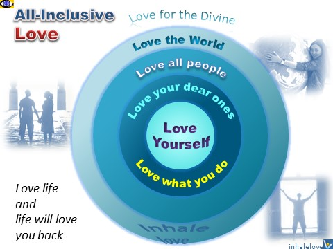 Love 360 All-inclusive love as a master key to success